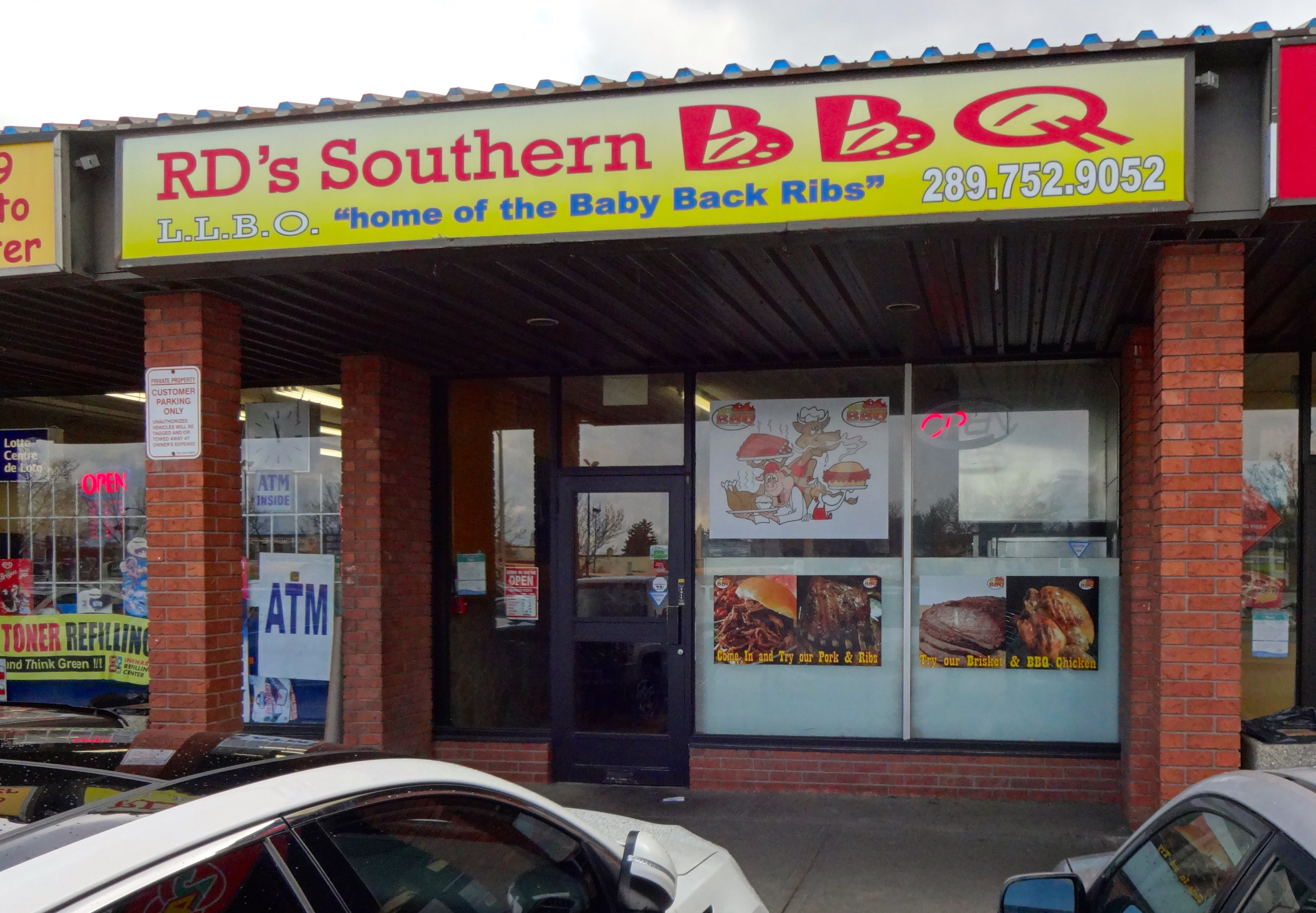 best bbq in brampton rd 39 s southern bbq review 4 corners. Black Bedroom Furniture Sets. Home Design Ideas
